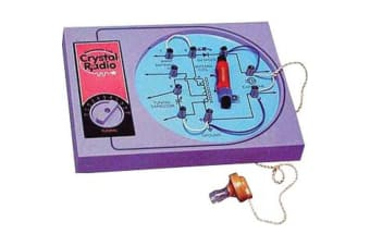 Maxitronix Crystal Radio Kit Designed for Kids Suitable for Schools