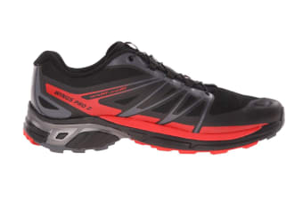 Salomon Men's Shoes Wings Pro 2 (Black/Cloud/Radiant Red)