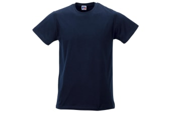 Russell Mens Slim Short Sleeve T-Shirt (French Navy)