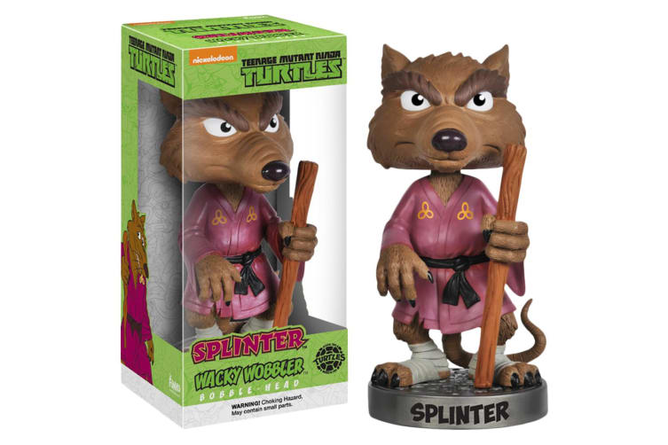 Teenage Mutant Ninja Turtles TMNT Splinter Figurine Wacky Wobbler Bobble Head