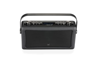 VQ Hepburn Mk II DAB+ FM Digital Radio/Bluetooth Speaker/Vintage/Wireless/Black