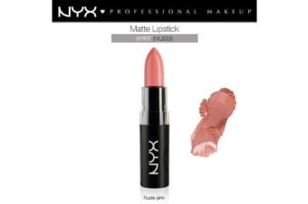 Nyx Matte Lipstick Spirit Nude Soft Pink Cream Natural #Mls33