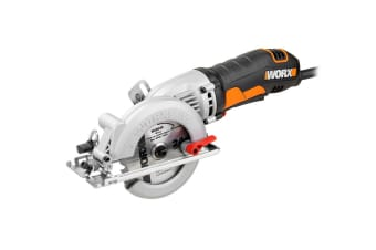 WORX 400W WORXSAW XL Compact Circular Saw with 3 x Blades & Carry Case (WX429)