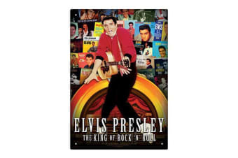 Elvis - Albums Tin Sign