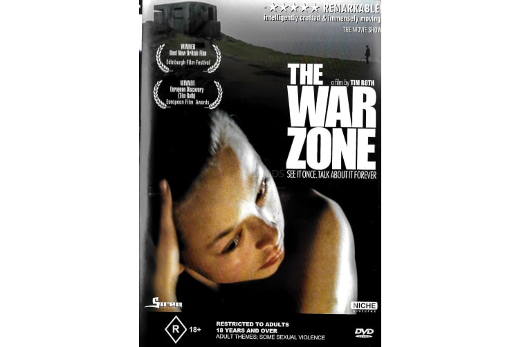 The War Zone -Ray Winstone - Region 4 Rare- Aus Stock DVD PREOWNED: DISC LIKE NEW