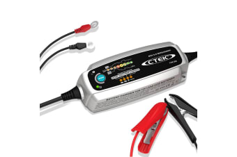 CTEK MXS 5.0 Test and Charge Battery Charger 12V 5Amp Deep Cycle AGM Bumper Case