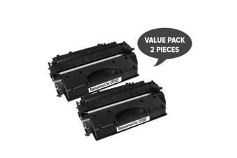 CE505A #05A Cart 319i Black Premium Generic Toner (Two Pack)