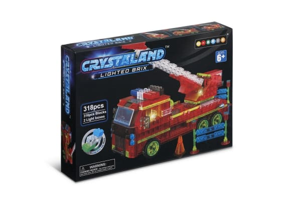Lego Compatible MetaMorph Blocks (Light Up Fire Truck)