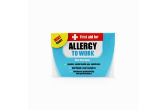 First Aid Novelty Work Allergy Mints For The Office - Allergy To Work
