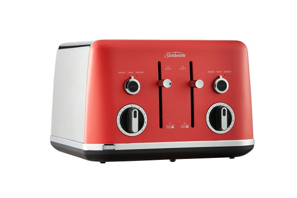 Sunbeam Gallarie Collection 4 Slice Toaster - Red Watermelon (TA2640RW)