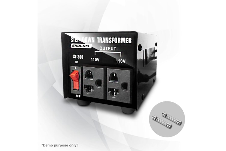 240V/110V Step Down Voltage Transformer 300W Stepdown Converter