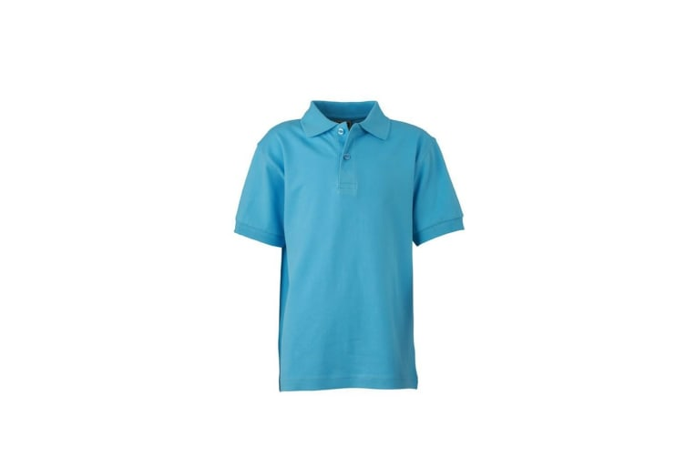 James and Nicholson Childrens/Kids Classic Polo (Sky Blue) (XS)