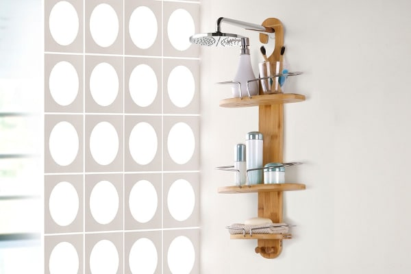 Ovela Bamboo Shower Caddy