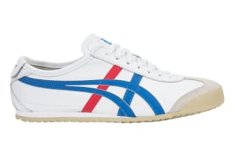 Onitsuka Tiger Mexico 66 Shoe (White/Blue, Size 6.5)