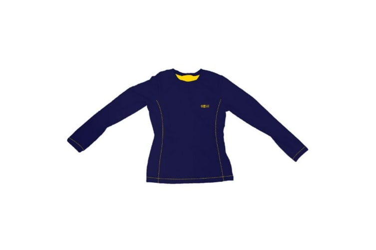 Little Rider Boys Lancelot Base Layer (Navy/Yellow) (3-4 Years)