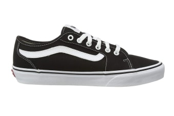 Vans Men's Filmore Decon Canvas Shoe (Black/True White, Size 10.5 US)