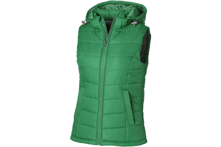 Slazenger Mixed Doubles Ladies Bodywarmer (Bright Green) (L)