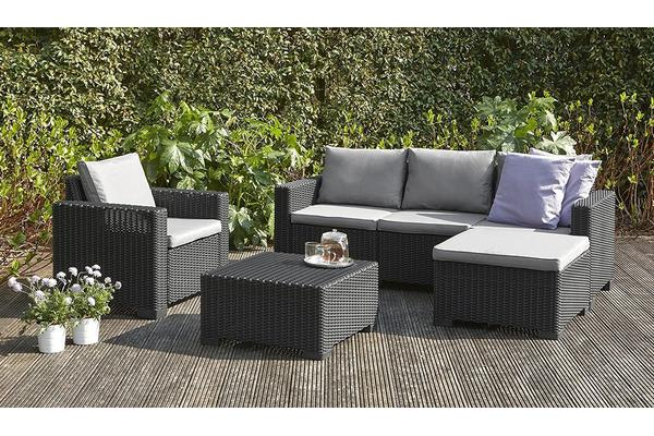 keter moorea outdoor furniture lounge set. Black Bedroom Furniture Sets. Home Design Ideas