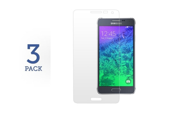 3 Pack Screen Protector for Samsung Galaxy Alpha