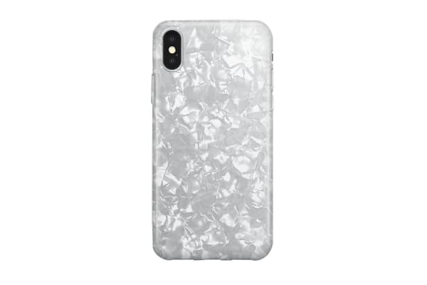 Recover iPhone XR Case - White Shimmer (REC074)