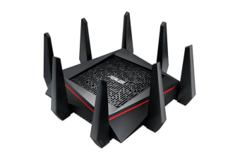 ASUS AC5300 Tri Band MU-MIMO Gigabit Wireless Gaming Router with Internet Security & Game Accelerator (RT-AC5300)