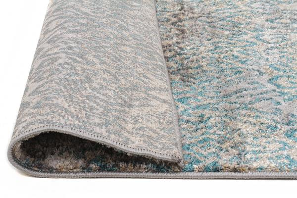 Hanna Lace Rug Blue Natural 330x240cm