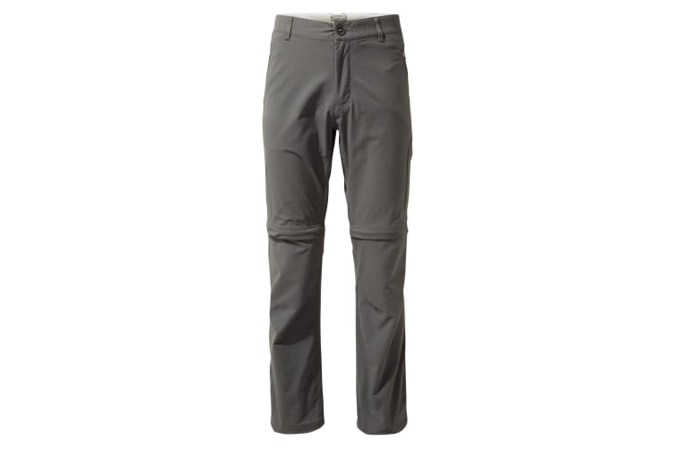 Craghoppers Mens NosiLife Pro Convertible II Trousers (Elephant) (33S)