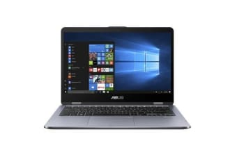 "ASUS VivoBook TP410UA-EC357T Flip Laptop 14"" 1080p FullHD Touch screen Intel i5-7200U 8GB 1TB NODVD"