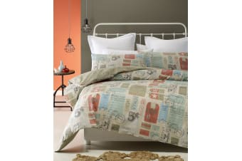 Airmail Quilt Cover Set by Phase 2