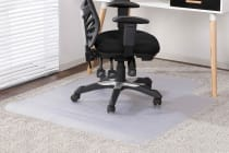 Ovela Chair Mat for Carpeted Floors (135 x 114cm)