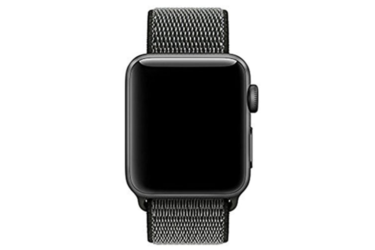 Smart Watch Band, Nylon Sport Loop Wrist Strap Replacment Band For Iwatch Series 1 /2 / 3 Dark Olive 42Mm