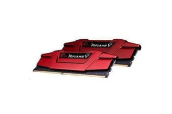 G.SKILL Ripjaws V Series 8GB (2 x 4GB) DDR4 2400Mhz CL15 1.2v Desktop Memory     Model