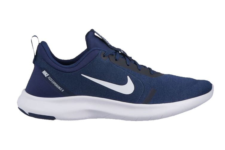 Nike Men's Flex Experience RN 8 (Midnight Navy/White, Size 8 US)
