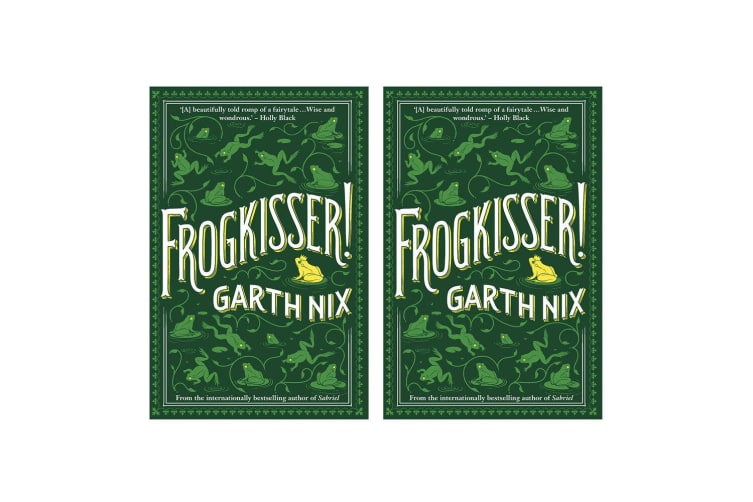 2PK Frogkisser! Book Young Adults/Teens Frog Animal Bedtime Story by Garth Nix