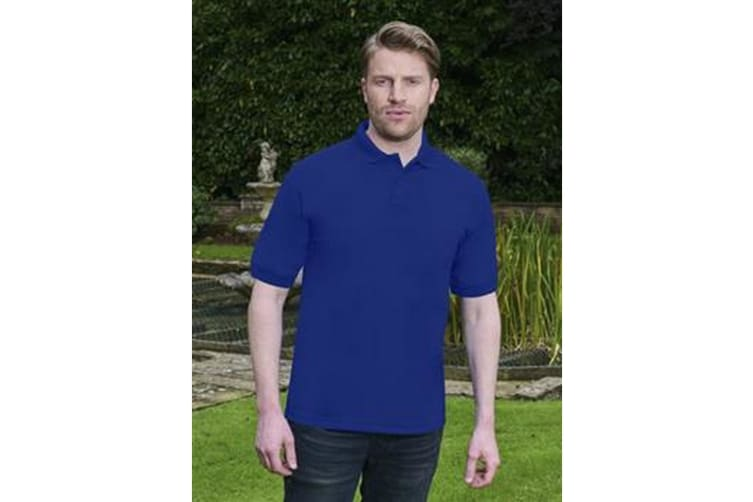 Absolulte Apparel Mens HydroFX Polyester Polo (Royal) (L)