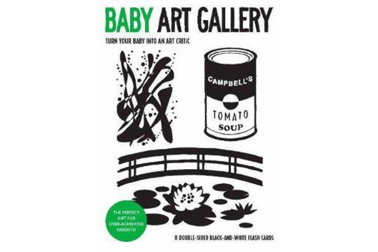Baby Art Gallery - Turn Your Baby into an Art Critic