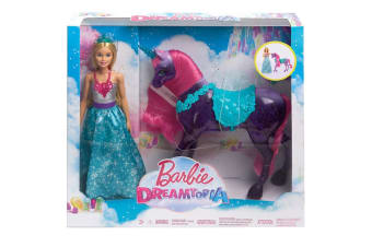 Barbie Dreamtopia Doll and Unicorn