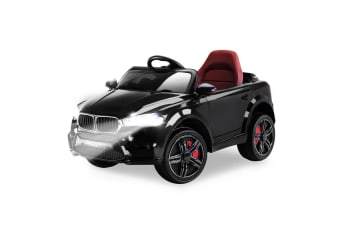 ROVO KIDS Ride-On Car BMW X5 Inspired Electric Toy Battery Remote 12V Black