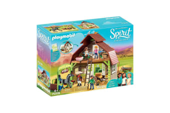 Playmobil Spirit Barn with Lucky or Pru and Abigail