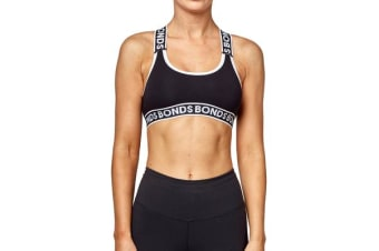 Bonds Girls New Era Cross Back (Black)