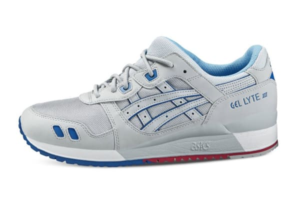 ASICS Tiger Men's Gel-Lyte III Running Shoe (Soft Grey, Size 10)