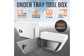 Underbody Truck Tool Boxes Storage - White