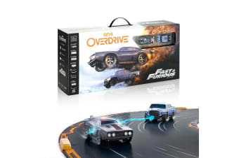 Anki OverDrive Remote Control Fast & Furious Starter Kit w/ Tracks f/ Smartphone