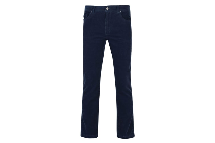 Regatta Mens Landford Corduroy Trousers (Navy) (30L UK)