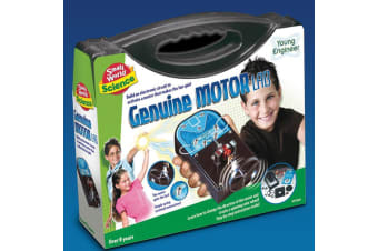 Young Engineer Motor Lab | Create A Motor To Power A Fan!