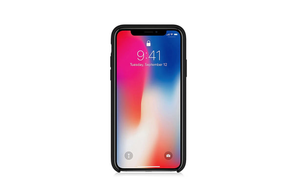 iPhone XS Silicone Case - Black