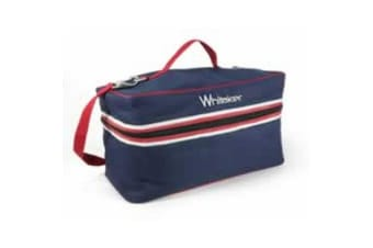 Whitaker Kettlewell Grooming Bag (Blue/Red)