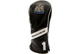 Newcastle United FC Official Heritage Driver Headcover (Black/White)