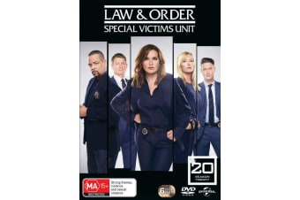 Law and Order Special Victims Unit Season 20 Box Set DVD Region 4