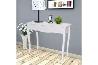 vidaXL Dressing Console Table White